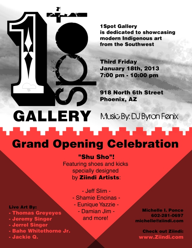 1Spot Gallery Grand Opening