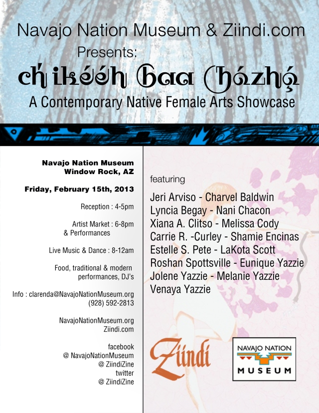 Navajo Nation Museum Show for Ziindi Vol 1.2